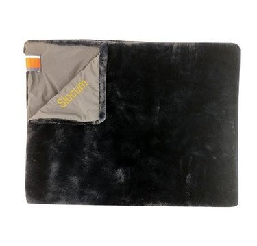 Pretty Rugged Lap/Pet Blanket Black Mink