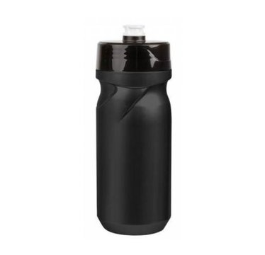 Polisport S600 water bottle with screw cap - 600 ml - black