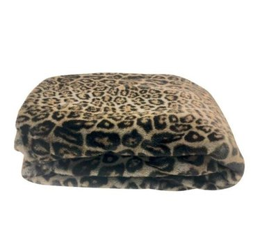 Pretty Rugged Original Blanket Grey Leopard